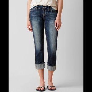 🎁SALE🎁 NEW BKE Sabrina Stretch Cropped Jeans 25